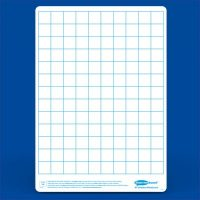 drywipe boards - grid print