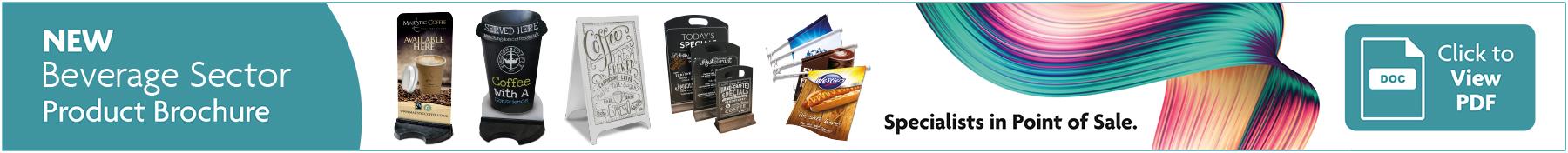 Coffee Marketing POS Brochure